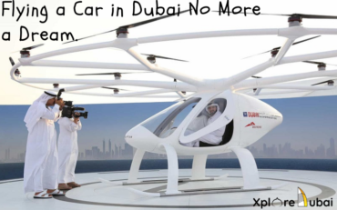 Flying cars in dubai