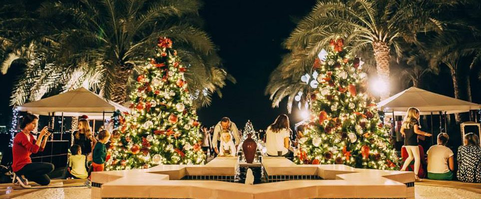 Emirates Golf Club Christmas festivities