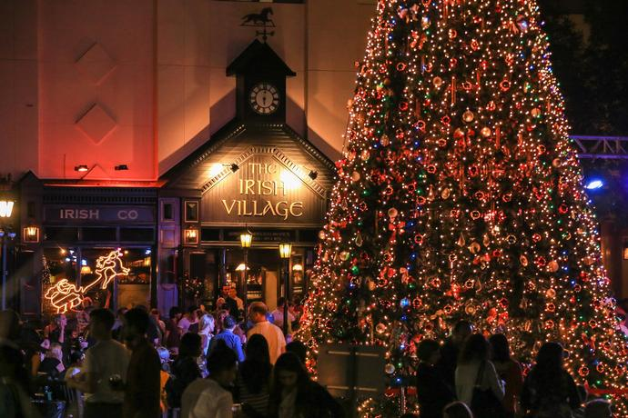 Irish Village Christmas Awaited ceremony of the year