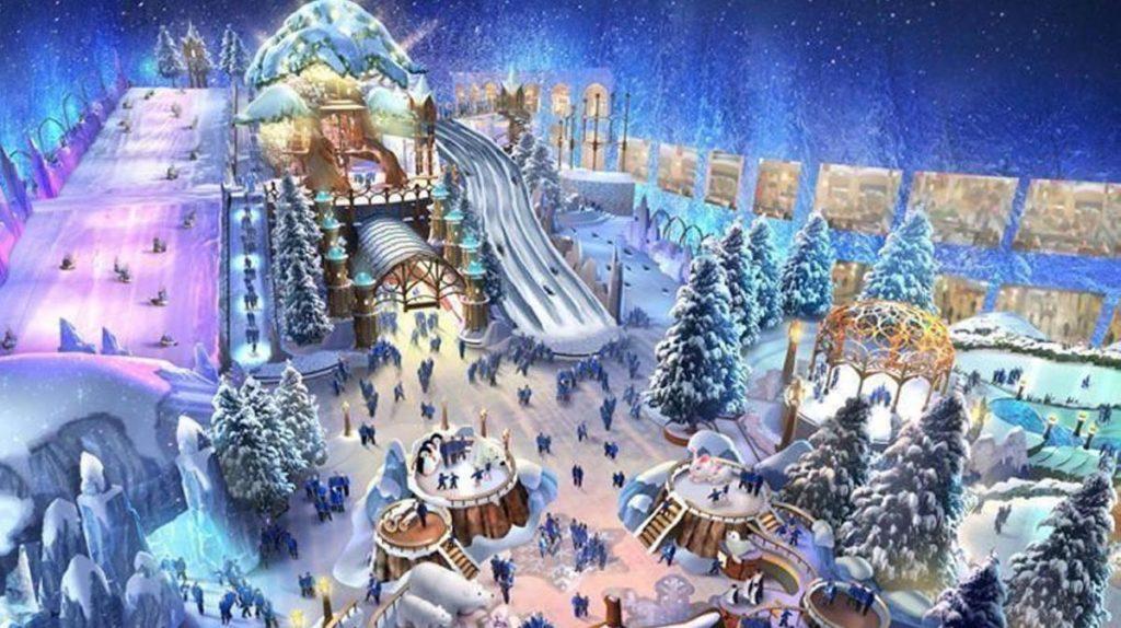 Snow Abu Dhabi Crystal Carousel Flurries' Mountain