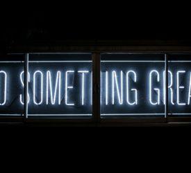 Do something great sign neon - Xploredubai